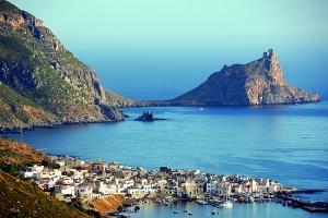 Italy.Sicily. Egadi islands. Marettimo.